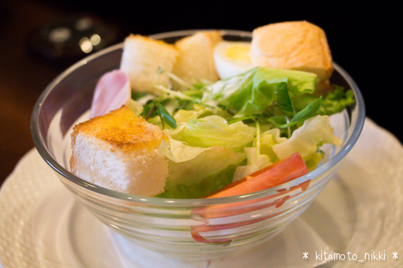 星乃珈琲の「サラダトーストモーニング」