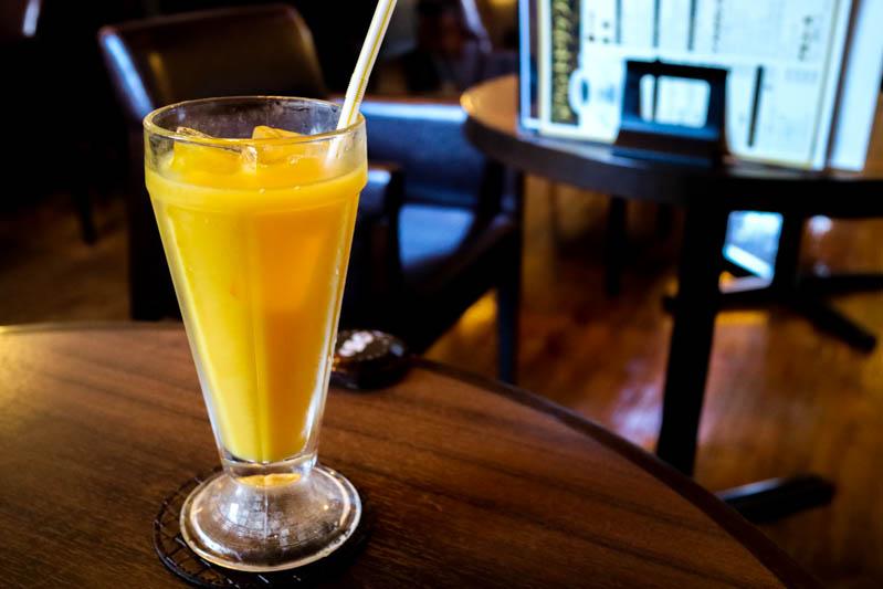 星乃珈琲の「オレンジジュース」